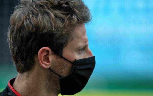 Grosjean: 'De hele linkerkant van mijn lichaam is zwaar geraakt'