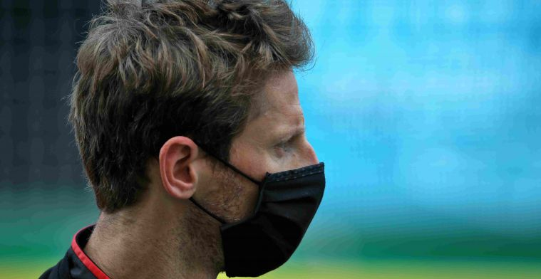 Grosjean: The whole left side of my body has been badly hit