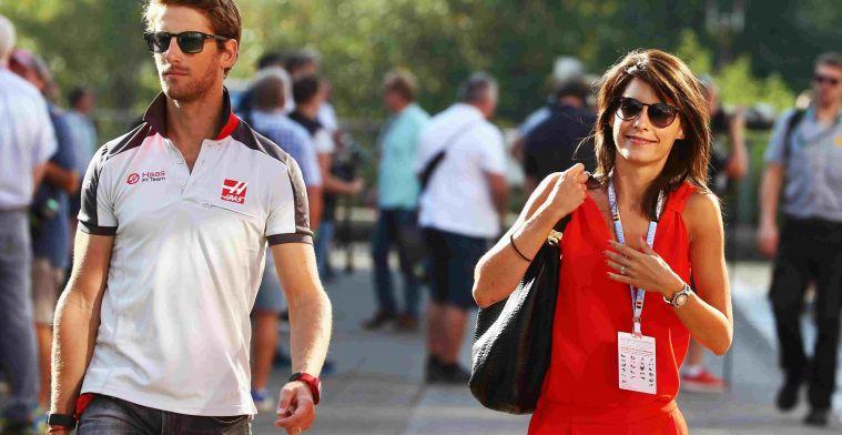 Vrouw van Grosjean bedankt Jules Bianchi