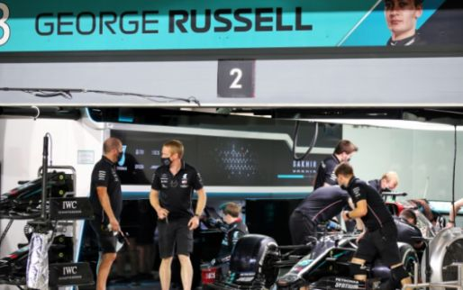 Russell is too tall for Mercedes: