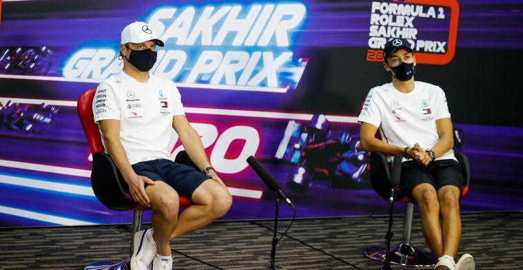 Spannende race voor Bottas deze zondag: Ik heb hier nog niet over nagedacht