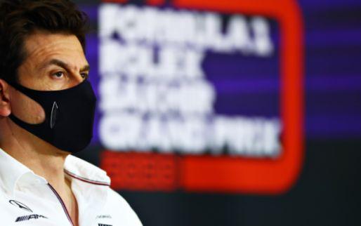 Wolff: 'Vergeleken met Verstappen was de tijd van Russell niet goed genoeg'