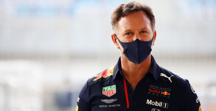 Horner: On the long run, it was quite competitive and that was encouraging