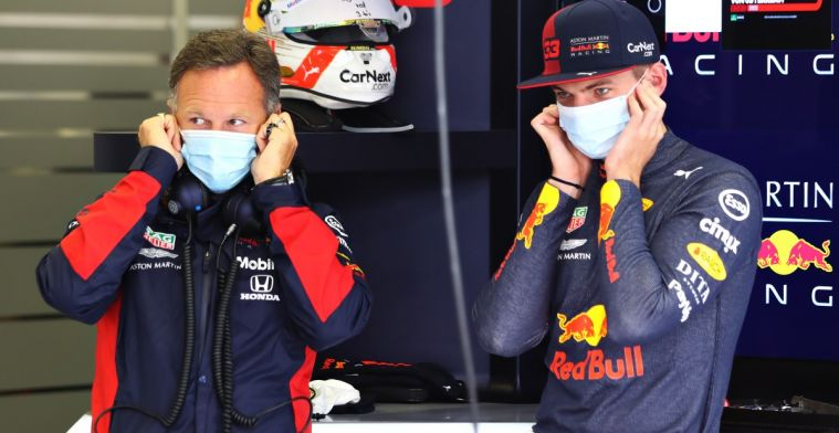 Horner doesn't blame Verstappen for his statements about Albon