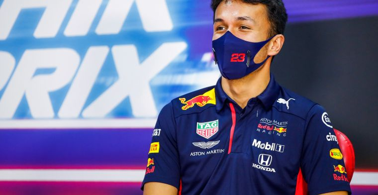 Albon satisfied overall with Red Bull race pace