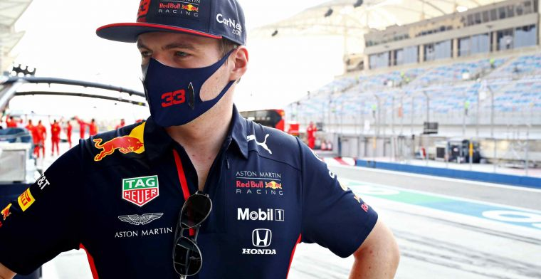 Verstappen on his criticism of Albon: I don't need to add anything