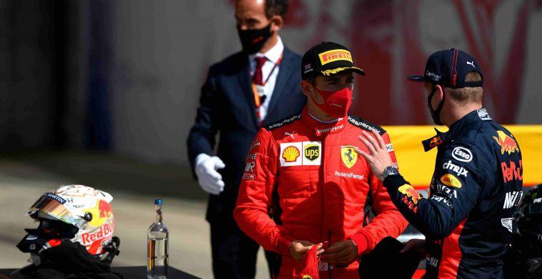 Leclerc over Verstappen: Soms kan hij gekke opmerkingen maken in de media