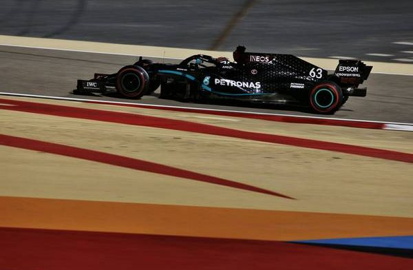 Russell on top for Mercedes but confident tomorrow will be a better day