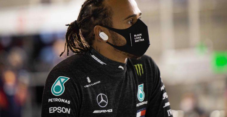 Wolff hoopt op terugkeer van Hamilton in Abu Dhabi: 'Zou heel positief zijn'