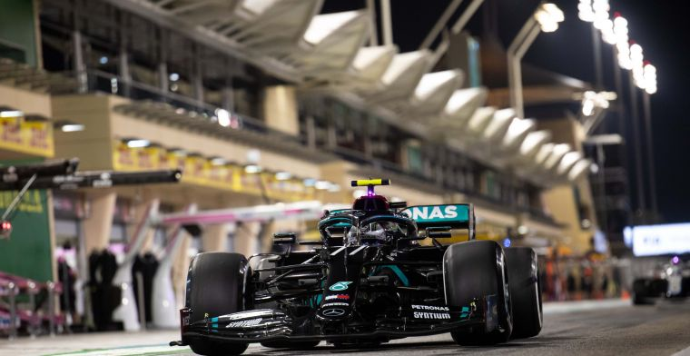 Bottas pakt nipte pole in Bahrein, voor sterke Russell en Verstappen