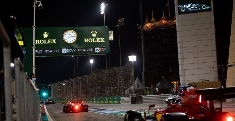 Samenvatting van de Zaterdag op Sakhir: Verstappen in goede positie maar Mercedes