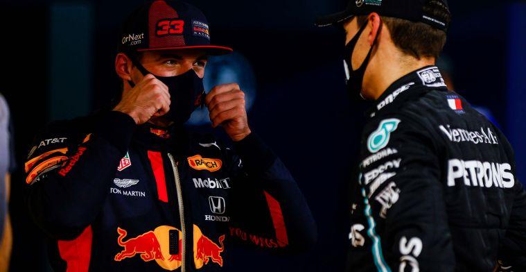 Verstappen tempert verwachtingen: 'Mercedes geeft dan niet echt gas'