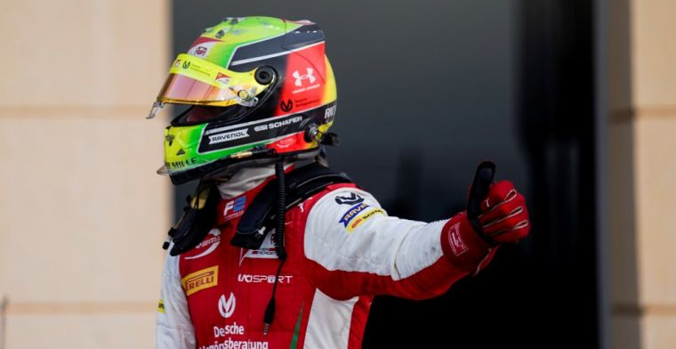 Mick Schumacher signs off from F2 as champion