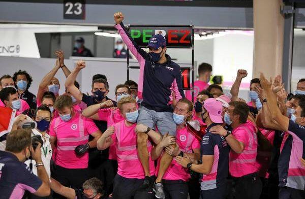 Pijnlijk randje aan overwinning Perez: Niet de beste coureurs rijden in F1