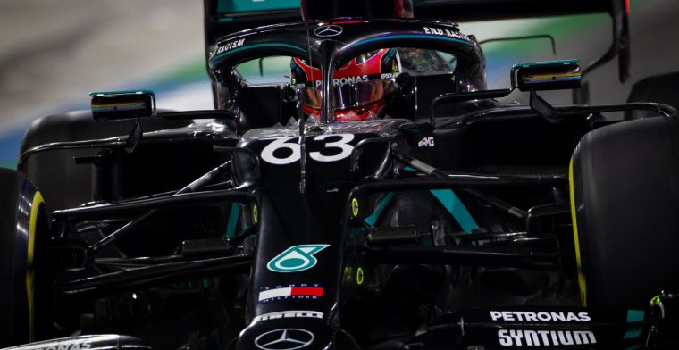 Shovlin praises how Russell approached weekend with Mercedes