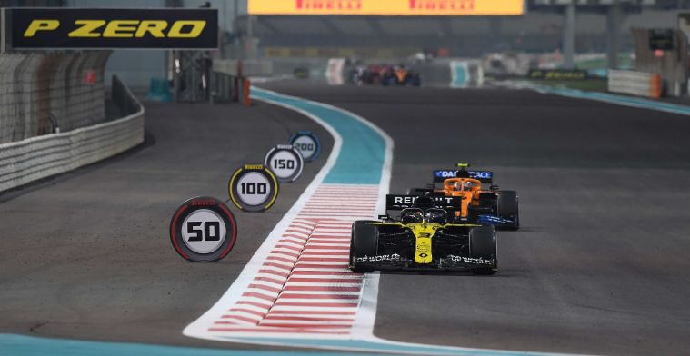 Ricciardo on boring Abu Dhabi: Maybe we could play around with the layouts