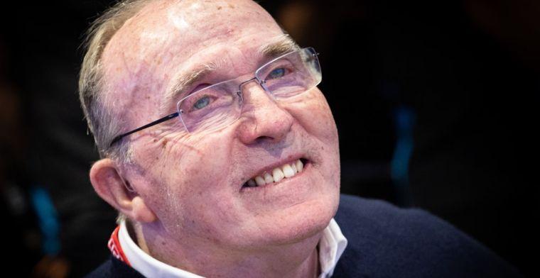 Frank Williams hospitalised