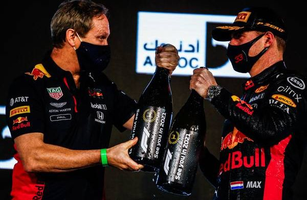 Verstappen: We zitten bij Red Bull en daar moeten we het mee doen