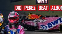 Image: VIDEO | 3 Factors why Red Bull chose Sergio Perez over Alex Albon