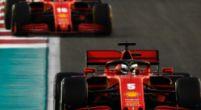 Afbeelding: Impliceert Vettel hier dat hij en Leclerc niet dezelfde materialen hadden?
