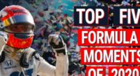 Image: VIDEO | Top Five Moments From The 2020 Formula 1 Season