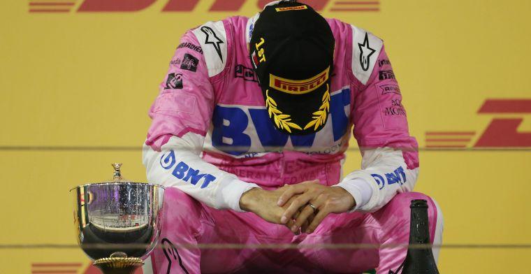 Perez dacht dat 'alles verloren was' op het meest cruciale moment in zijn carrière