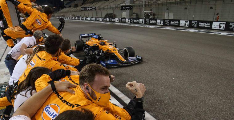McLaren op weg terug naar de top: 'Ik voorspel dat ze een GP winnen in 2021'