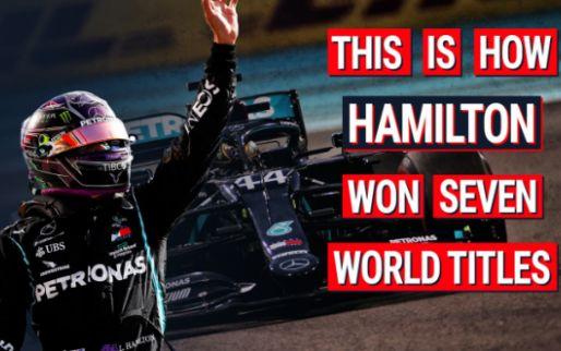 Fijne verjaardag Lewis Hamilton! 7 ONVERGETELIJKE momenten uit zijn 7 titels