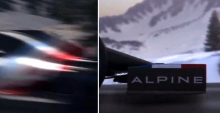 Alpine F1 Team posts teaser; this is how the livery of 2021 will look like