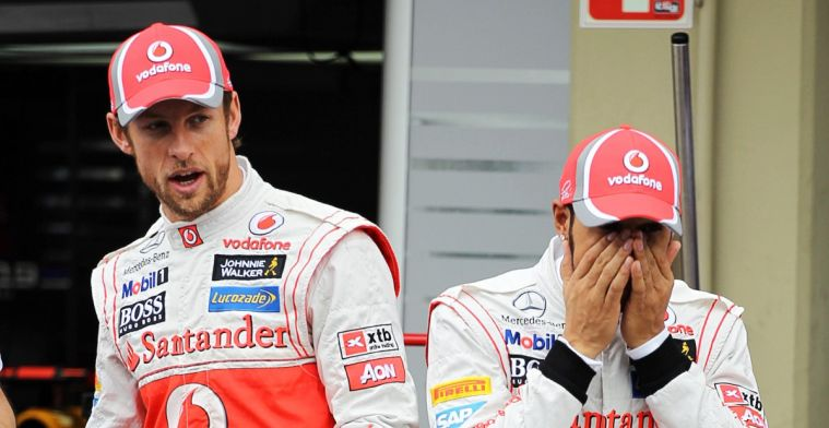 Button could've driven for Ferrari: 'I was probably better off at McLaren'