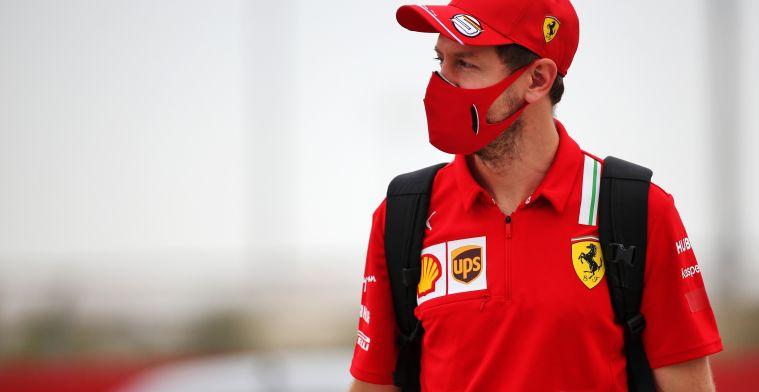 Vettel: 'Ben ik bezorgd over een korte testperiode? Nee'