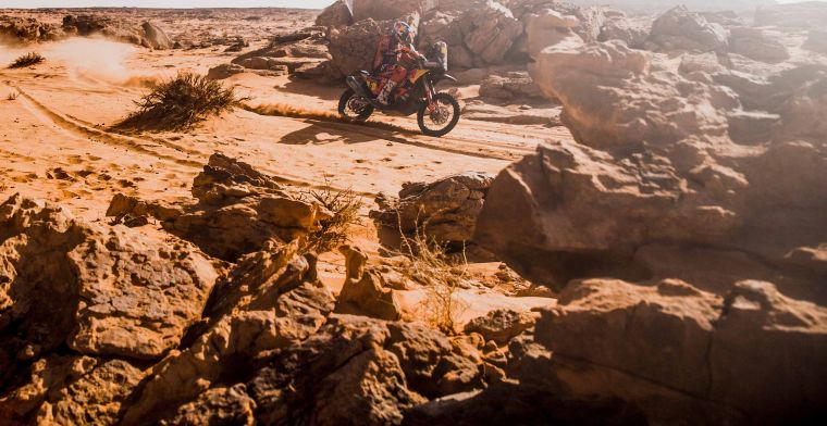 Results eleventh stage of the Dakar Rally 2021: Sunderland wins on bikes!