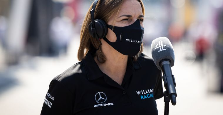 Claire Williams not worried about lack of women in Formula 1