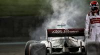 Image: Raikkonen about Alfa Romeo muddling on: 'A lot of work to do'