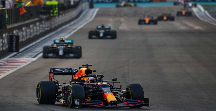 Verstappen: Without F1 rule changes RedBullcould've done the same as Mercedes