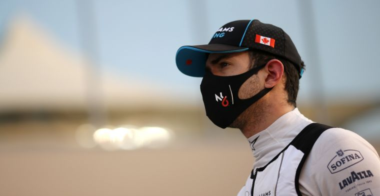 Latifi found Formula 1 debut 'enlightening': Must unlearn certain habits