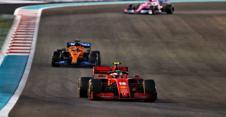 Sainz on Leclerc as benchmark: He is one of the strongest drivers on the grid