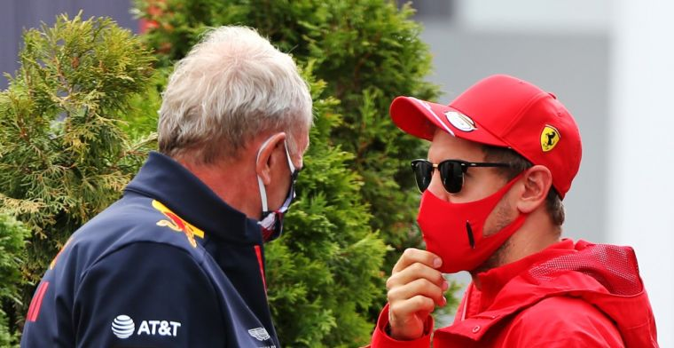 Marko: When we had to act, Vettel was no longer available