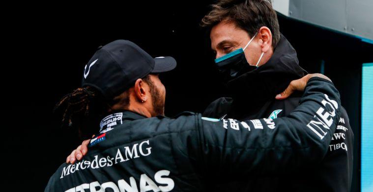 Brundle over succes Mercedes en Wolff: 'Uitmuntendheid moet je vieren'