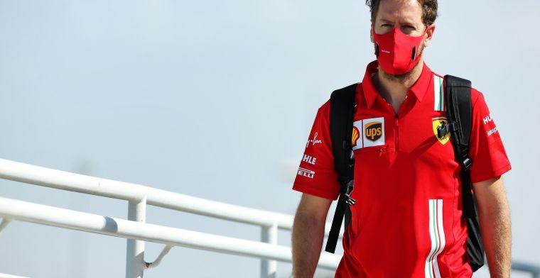 Vettel: ''Ik hoef de beslissing van Ferrari niet te begrijpen om eerlijk te zijn''