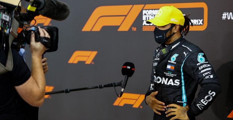 Image damage for Hamilton: Then you have to behave accordingly