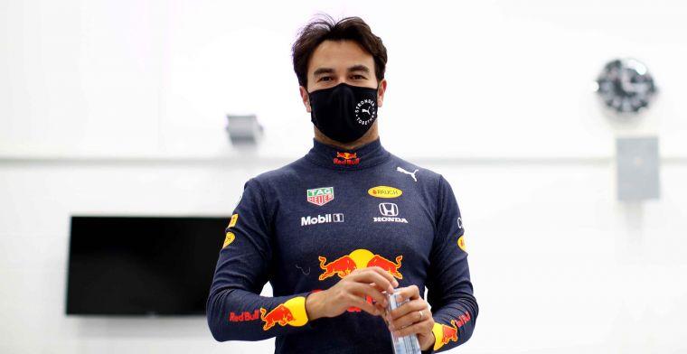 Perez: 'Als de auto niet sneller is dan P3, zorg ik dat we tweede finishen'
