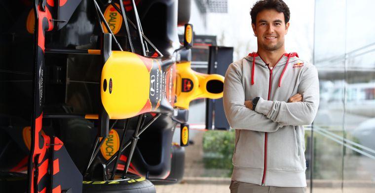 Perez relativeert zijn nadeel bij Red Bull Racing: 'Is voor iedereen hetzelfde'