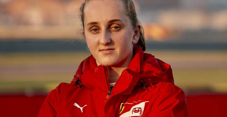 Ferrari Driver Academy signs its first female driver in history