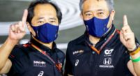 Image: Honda explains choice of 2022 engine: 'We are still behind Mercedes'