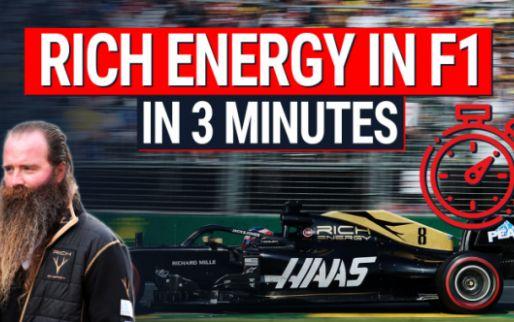 Het verhaal van Rich Energy en Haas uitgelegd in minder dan drie minuten