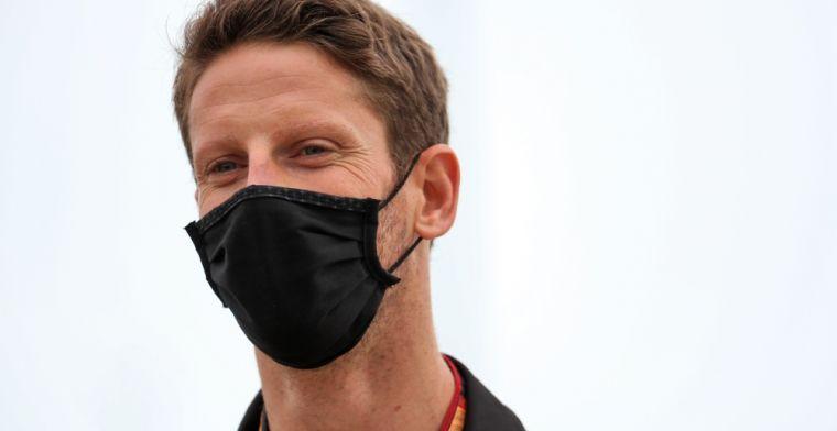 """Grosjean stort zich op het simracen: """"Het is geweldig, er is veel opwinding"""""""