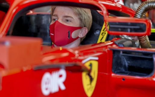Shwartzman improves own Fiorano time by half a second during Ferrari test