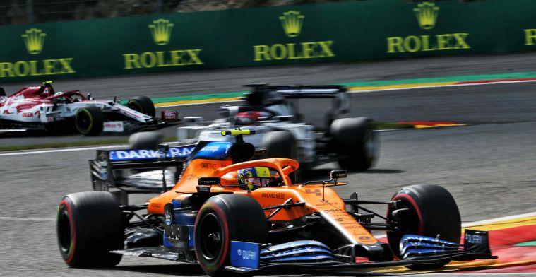 McLaren sets goals and hopes to close gap with top teams
