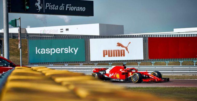 Besides Sainz, Ferrari also gives Schumacher a chance to test for Ferrari